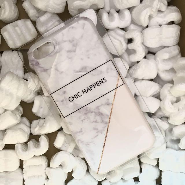 Iphone 7 手機殼 大理石 軟殼 觸感不會沙沙的軟殼