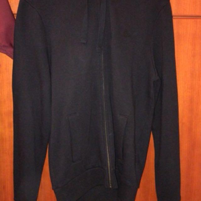 Jack Wills Logo Zip Hoodie Xs