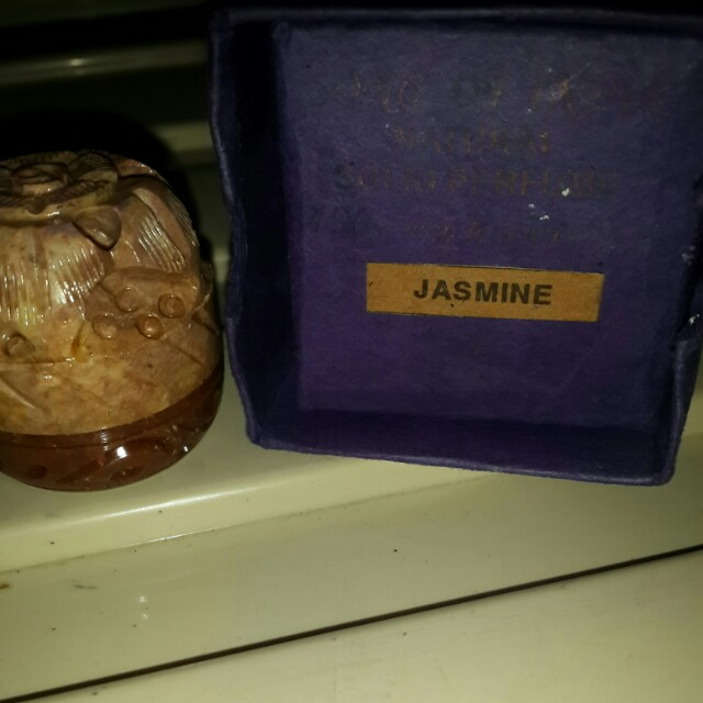 Jasmine perfume balm