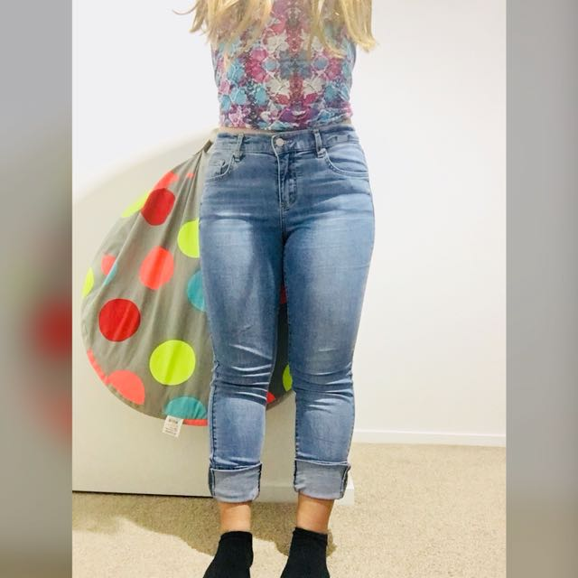 Just Jeans Highwaisted size 10