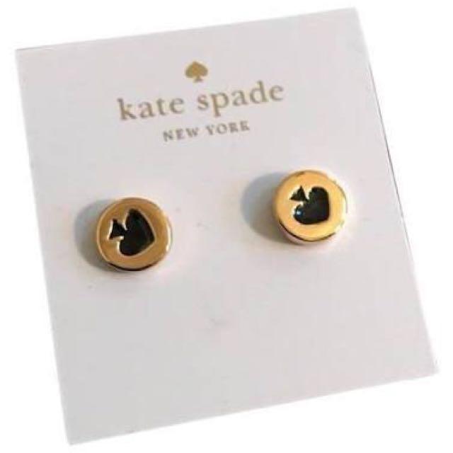Kate Spade Spot the Spade Stud Earrings