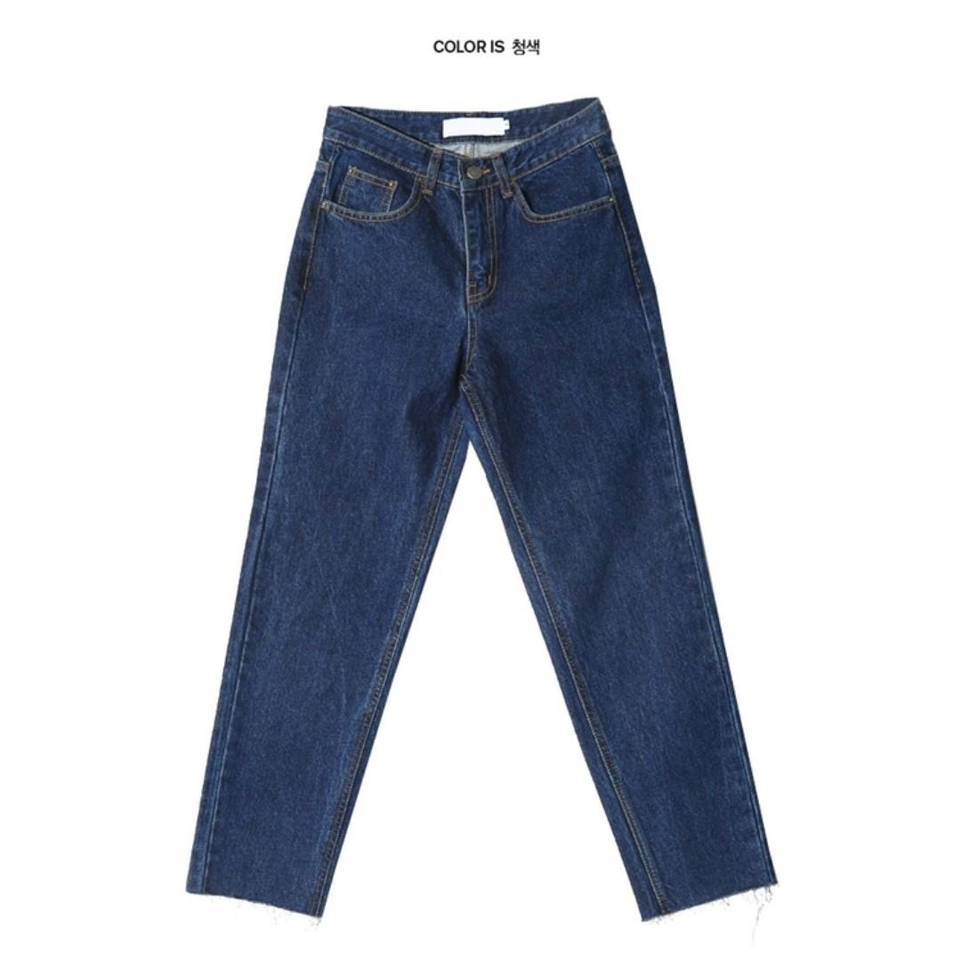 KOREA mom jeans