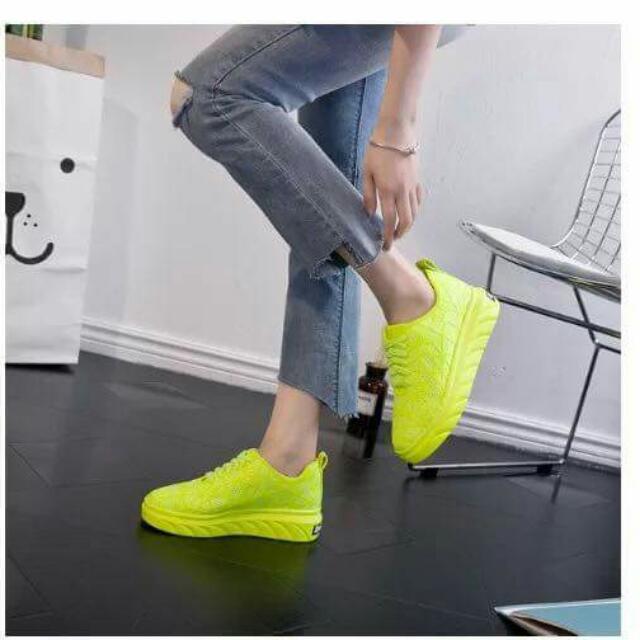 Korean Neon Shoes