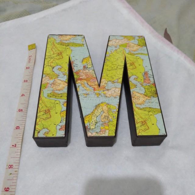 Letters Cardboard