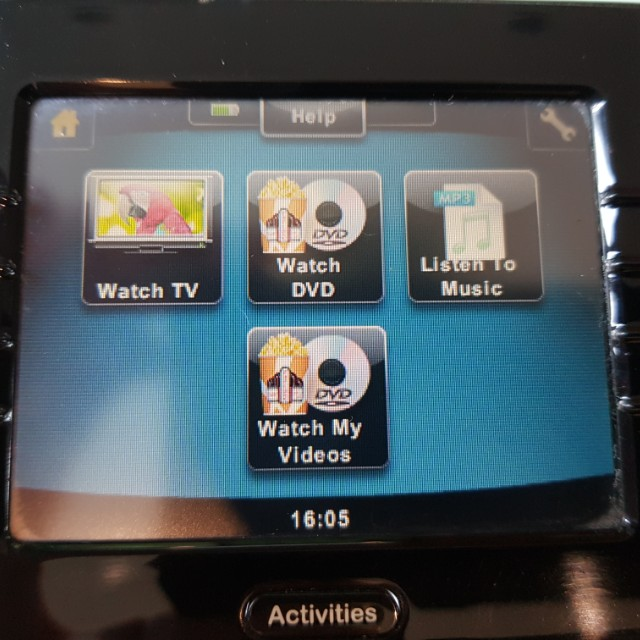 6e9acaed3f7 Logitech Harmony 1100 Univeral Remote, Home Appliances, TVs & Entertainment  Systems on Carousell