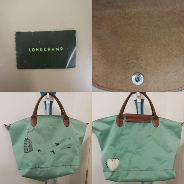 Deal Cheap Portable Longchamp Le Pliage Messenger Bags Lagoon