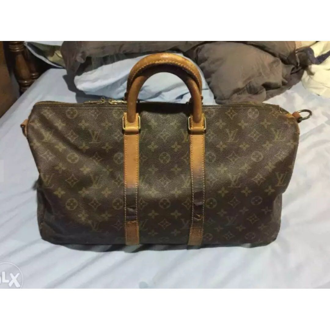 Louis Vuitton LV Vintage Keepall 45 Travel Bag