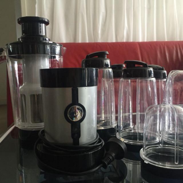 Magic Bullet (Homemaker brand) Blender + Juicer