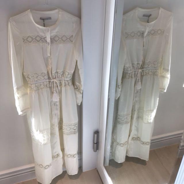 全新Mercci白色高質感洋裝👼🏻
