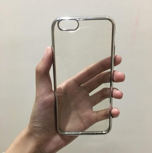 Metallic clear case