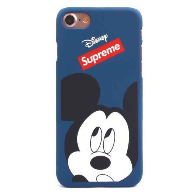 Mickey Mouse x Supreme Iphone 7 Casing