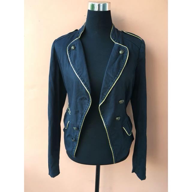 Military Blazer Jacket