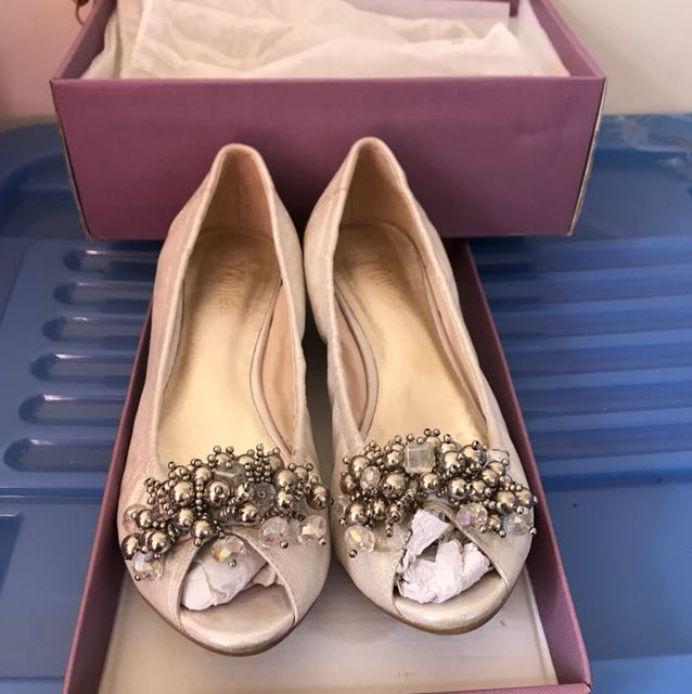 Millie's silver heels size 41 rrp100