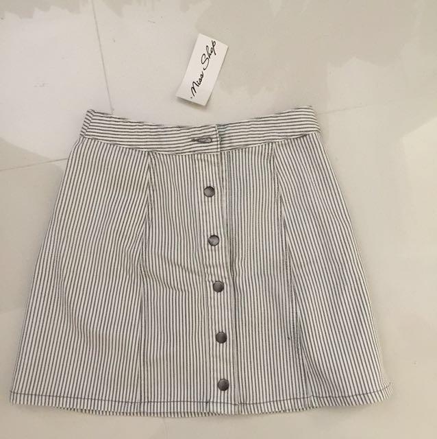 Miss shop high waisted skirt