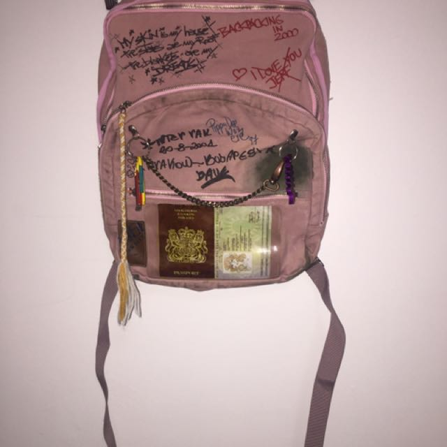 Miss SIXTY Distressed backpack
