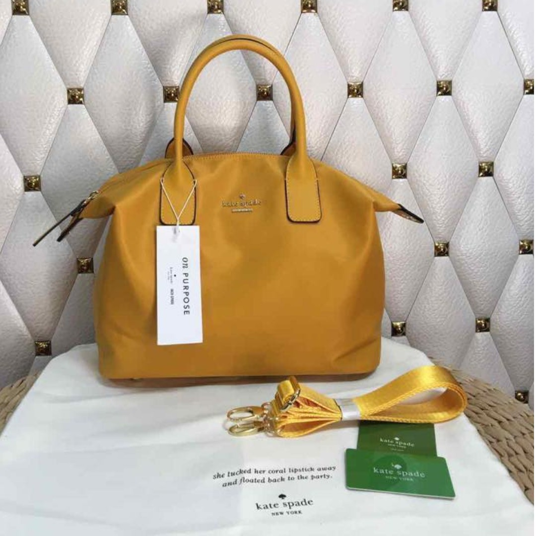NEW COLOR - Kate Spade Lyla Tote Bag - Mustard Yellow