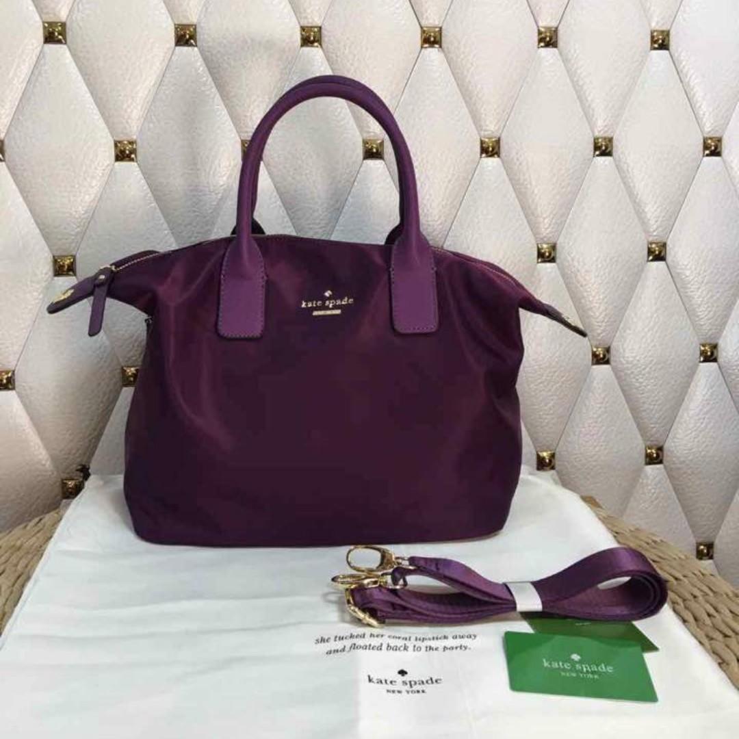 NEW COLOR - Kate Spade Lyla Tote Bag - Purple
