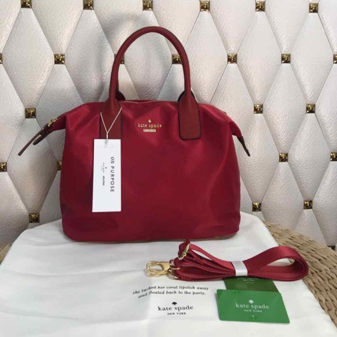 NEW COLOR - Kate Spade Lyla Tote Bag - Red