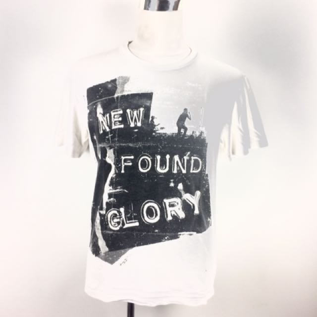 NEW FOUND GLORY Asia Tour Band T-Shirt