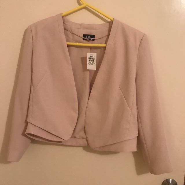 New Pink Dotti Blazer (size 12)