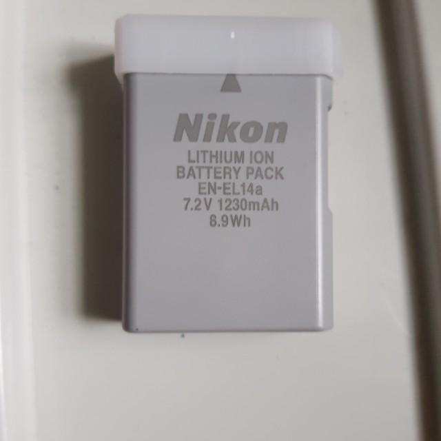Nikon DSLR battery EN-EL14a