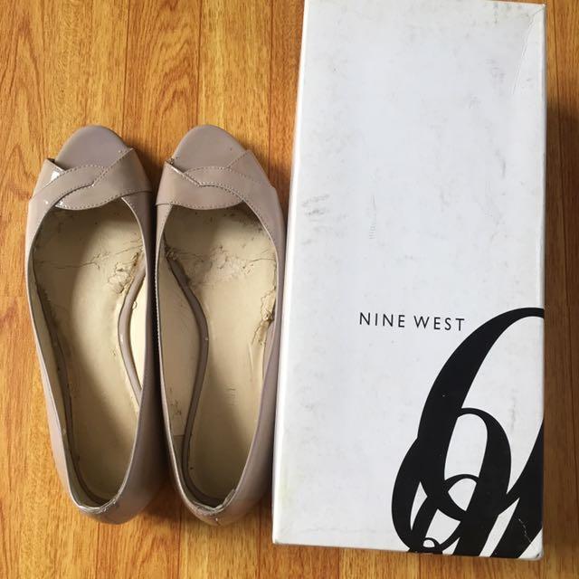 Nine west peeptoe shoe