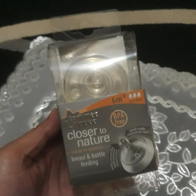 Niple tomme tippee 1 new 1 preloved