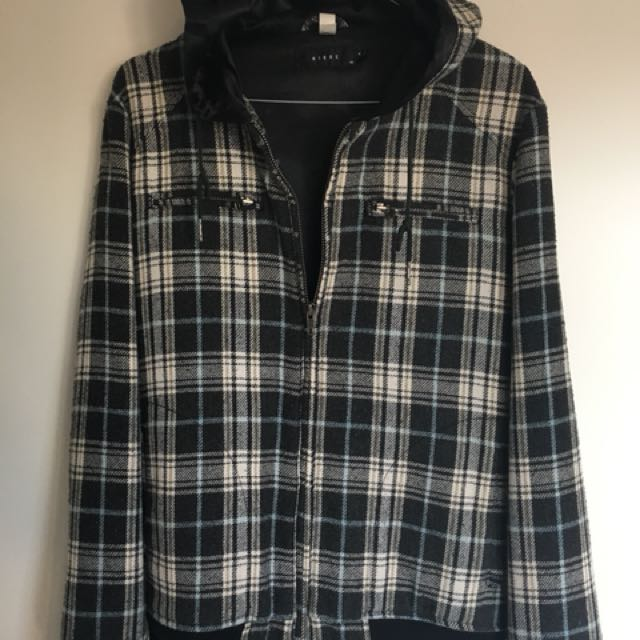 Nique Jacket Checkered with hoodie