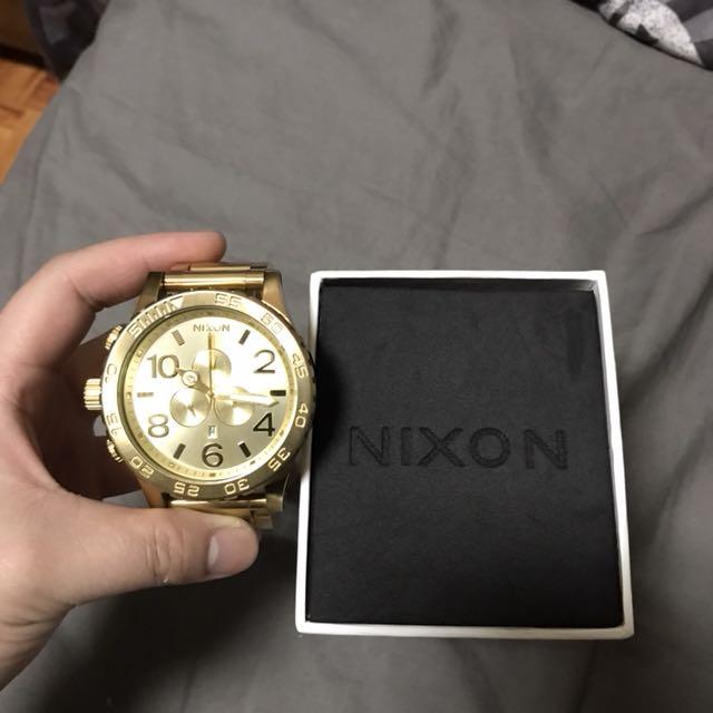 Nixon 金錶 手錶