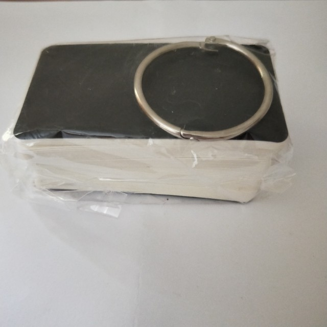 Note Paper with Binding Ring