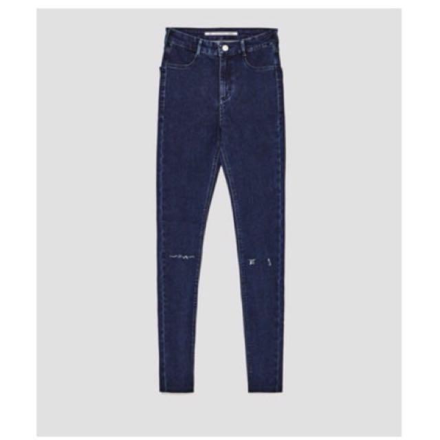 NWT Zara high waisted jeans