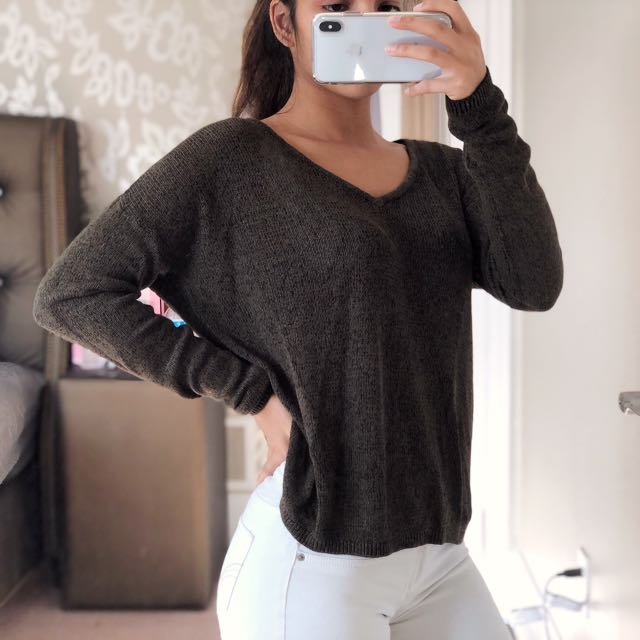 Olive Sweater - XS/S