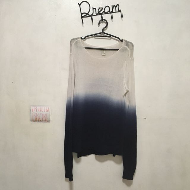 OMBRE F21 SWEATER