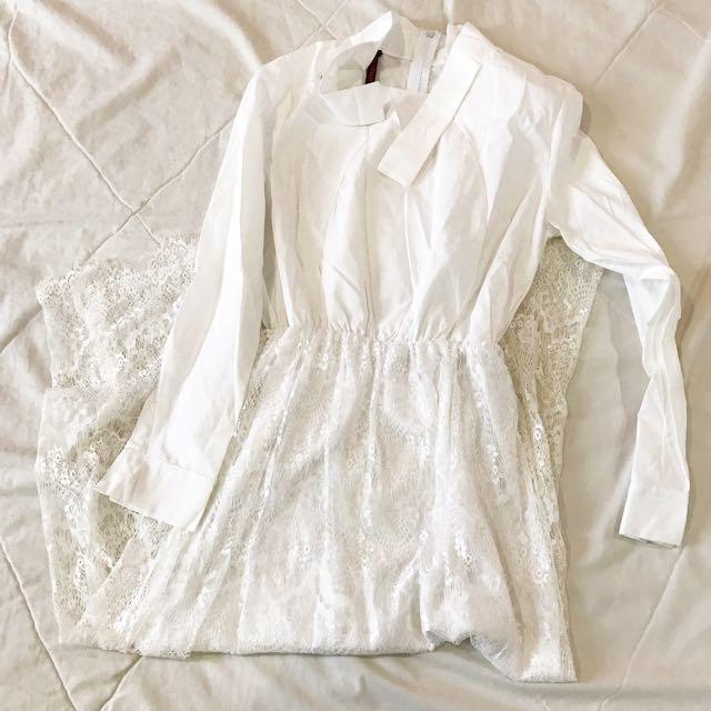 One piece lace dress