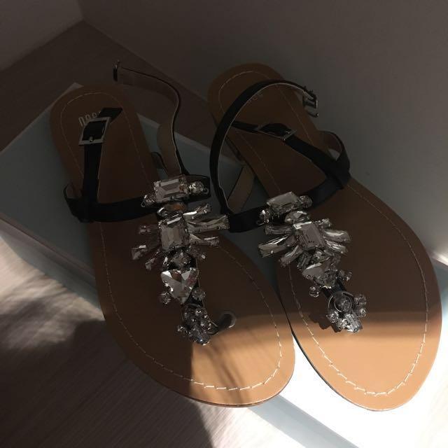 Osmosis crystal sandals