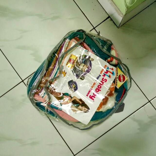 paket 2 tas perlengkapan bayi