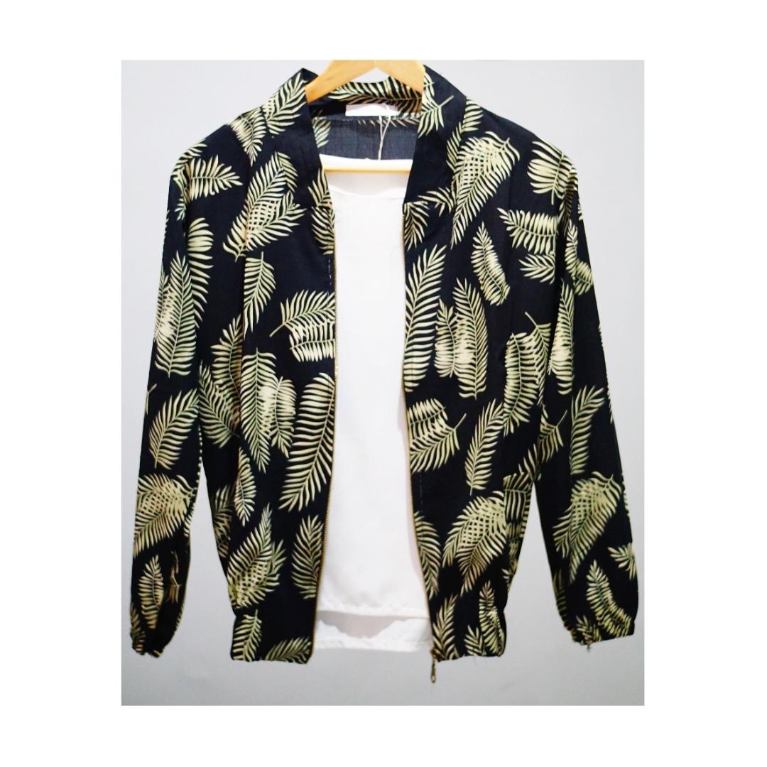 Palm Pattern Jacket