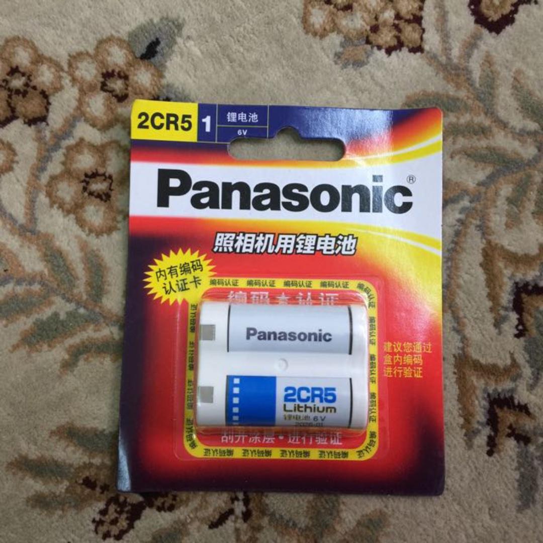 Panasonic 2CR5 Battery ( 6v ) For EOS Film Cameras