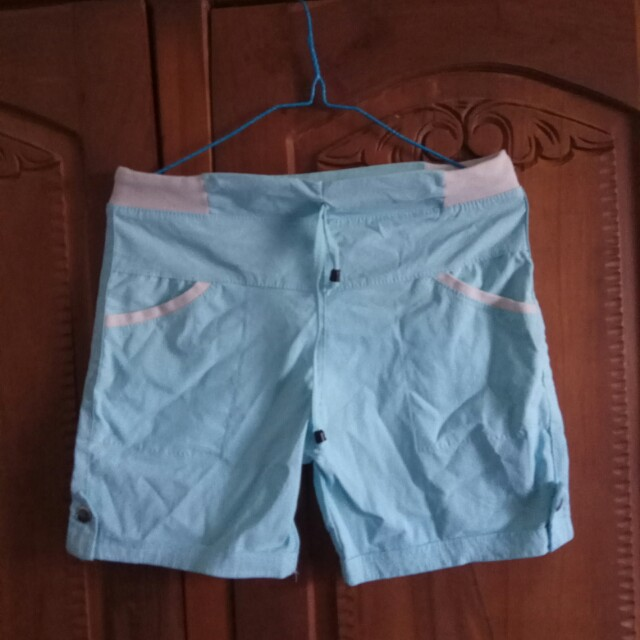 Pants Light Blue Parasut