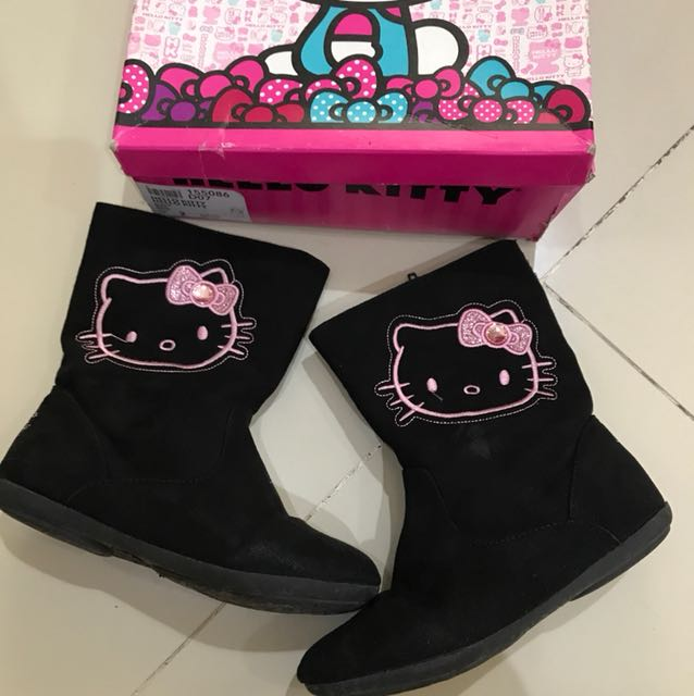 payless hello kitty boots