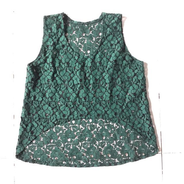 PLOVED: Lacey Cover Top