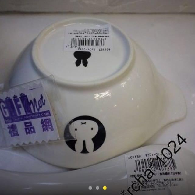 (現貨)日本製(2選1)Pokemon 比卡超 / Miffy 米菲兔 陶器( 碗+勺 )套裝發售 全新品