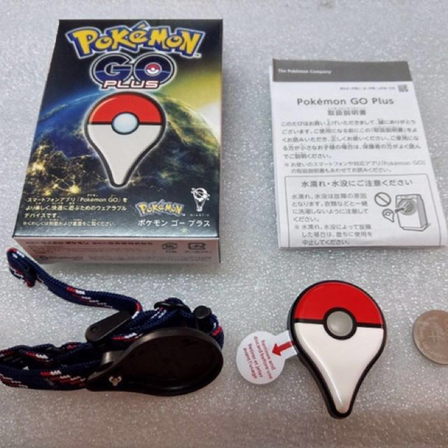 Pokemon go plus 原廠日版+已改裝自動抓 無震動 少用 寶可夢 神奇寶貝 皮卡丘 免運費