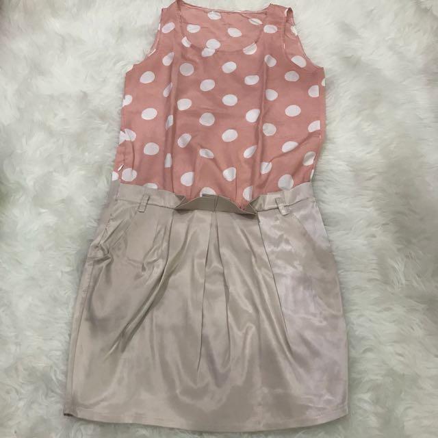 Polka pastel dress