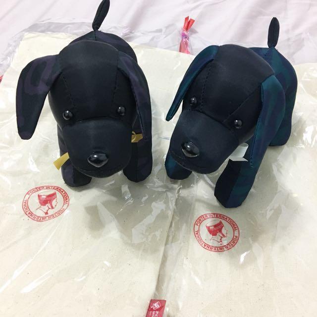Porter International 狗狗玩偶!!
