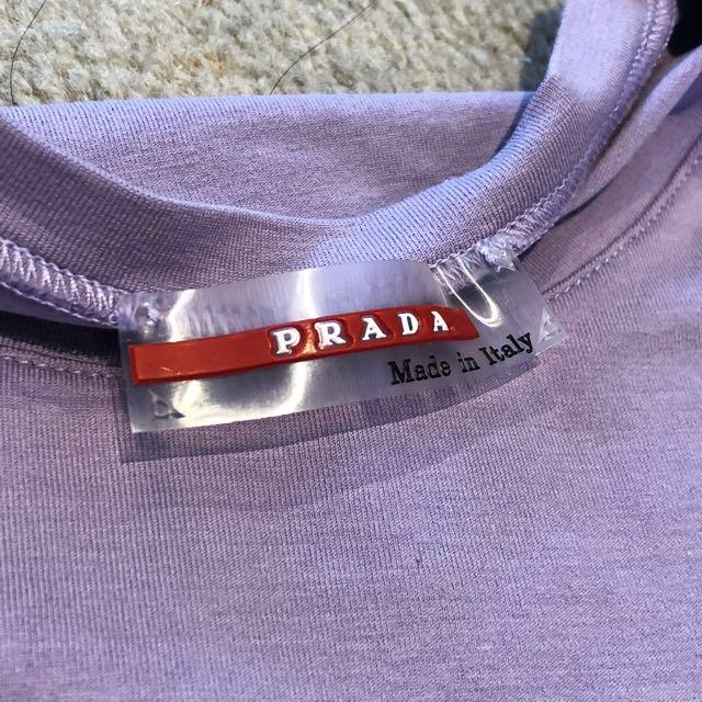 Prada Light Purple T-shirt 1