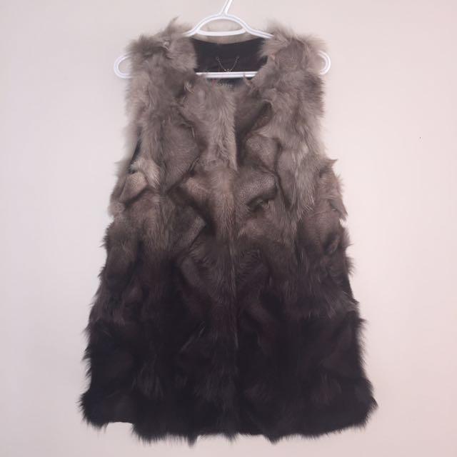 PRELIN Arctic Fox Fur Vest