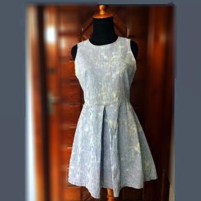 Preloved COLORBOX Stripes Dress