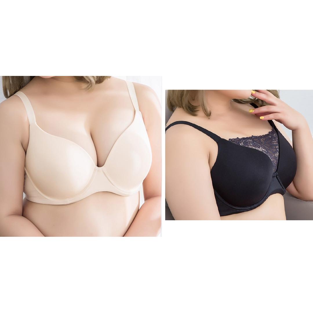 438b9b992 pre-order Women T-Shirt bra  Multi wear Underwear Lingerie plus size ...