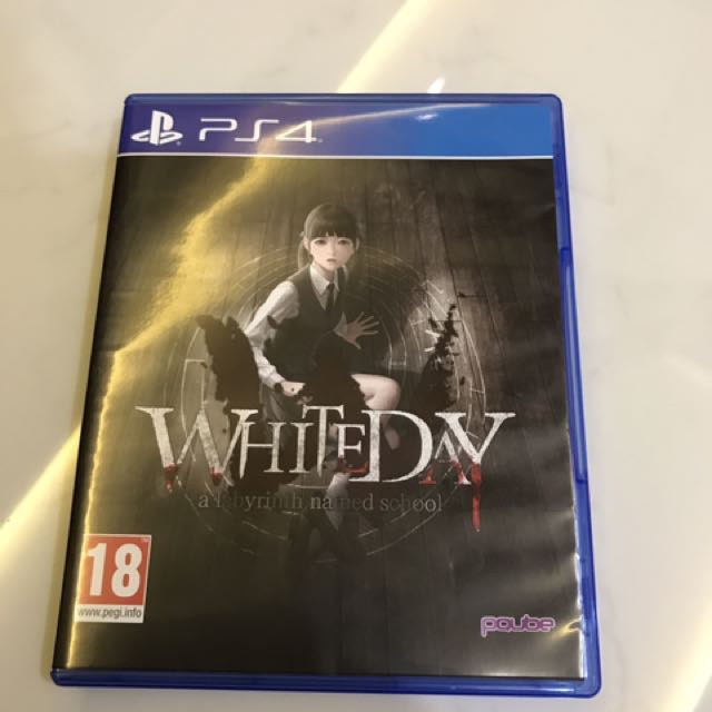 PS4 Horror game - White Day : A labyrinth named school, Toys